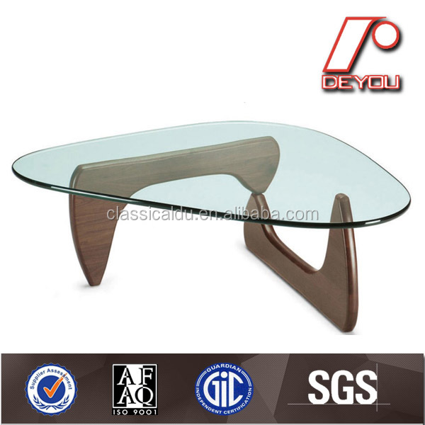 Triangle coffee table Isamu table wood coffee table CT-010