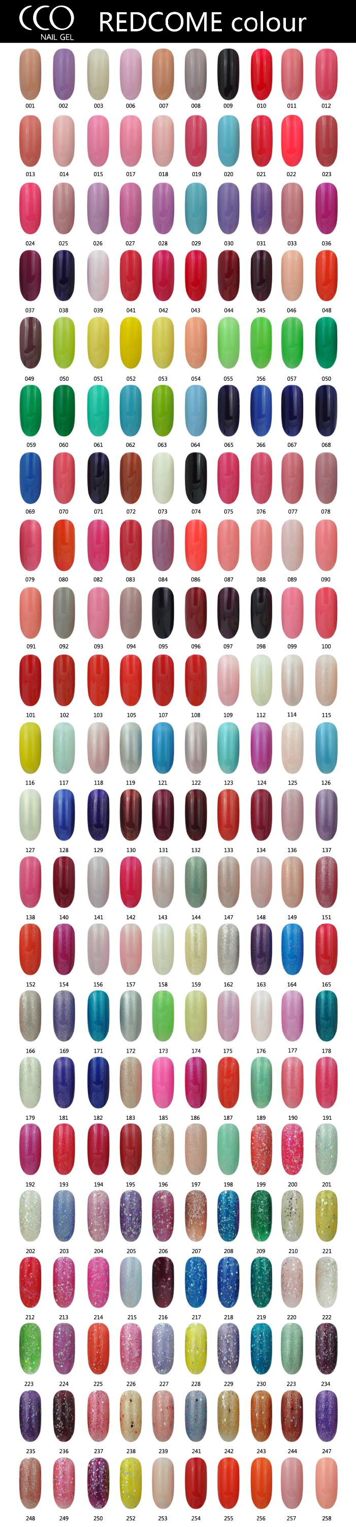Cco redcome gel polish 383 colors soak off uv led cheap wholesale cco redcome gel polish 383 colors soak off uv led cheap wholesale nail polish geenschuldenfo Image collections