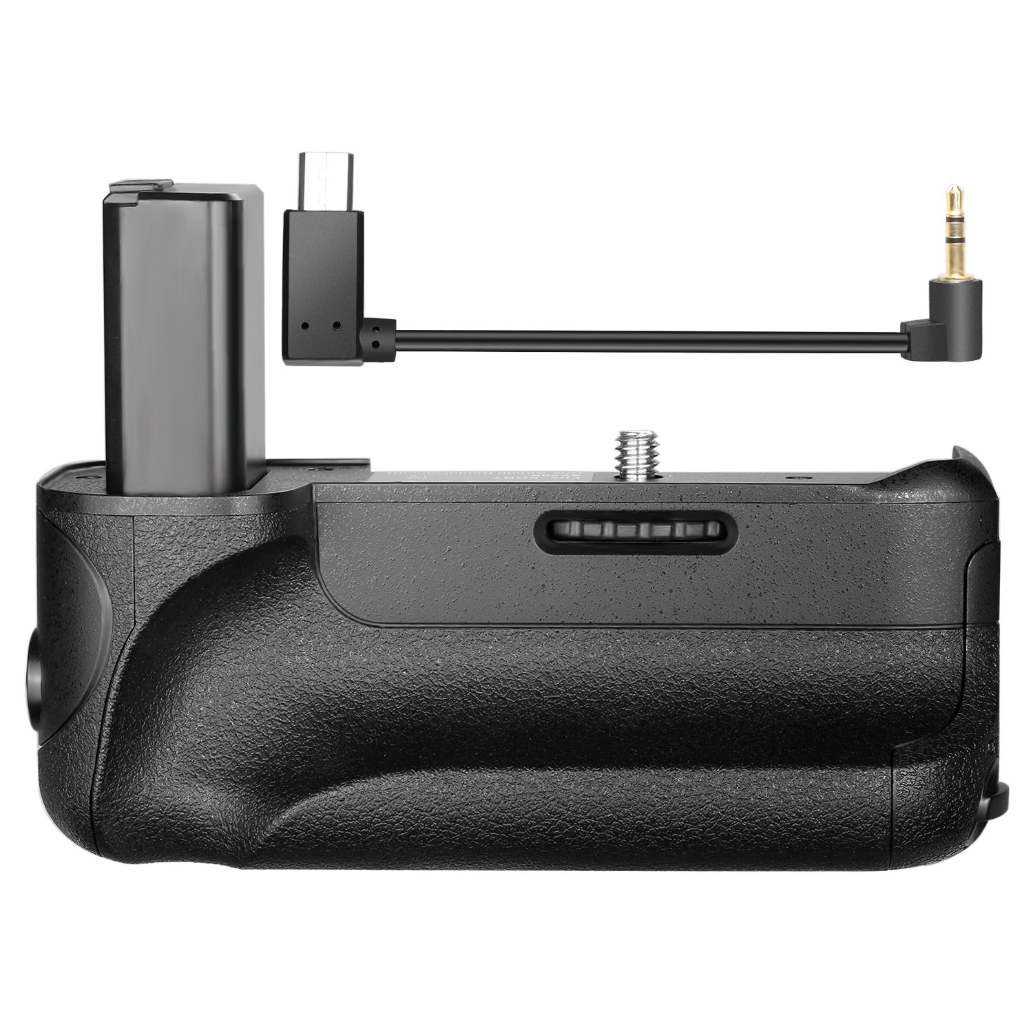 Neewer Pro Camera Battery Grip with Vertical Shooting Function for Sony A6500 Mirrorless Camera, Work with One or Two NP-FW50 Replacement Li-ion Battery (Battery NOT Included)