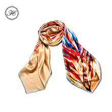 Wholesale Fashion Silk Satin Scarves in China