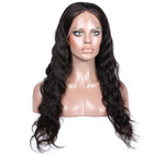 Wholesale virgin hair natural hairline unprocessed elastic band brazilian hair glueless full lace wig