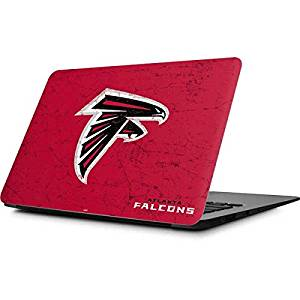 NFL Atlanta Falcons MacBook Air 11.6 (2010/2013) Skin - Atlanta Falcons - Alternate Distressed Vinyl Decal Skin For Your MacBook Air 11.6 (2010/2013)