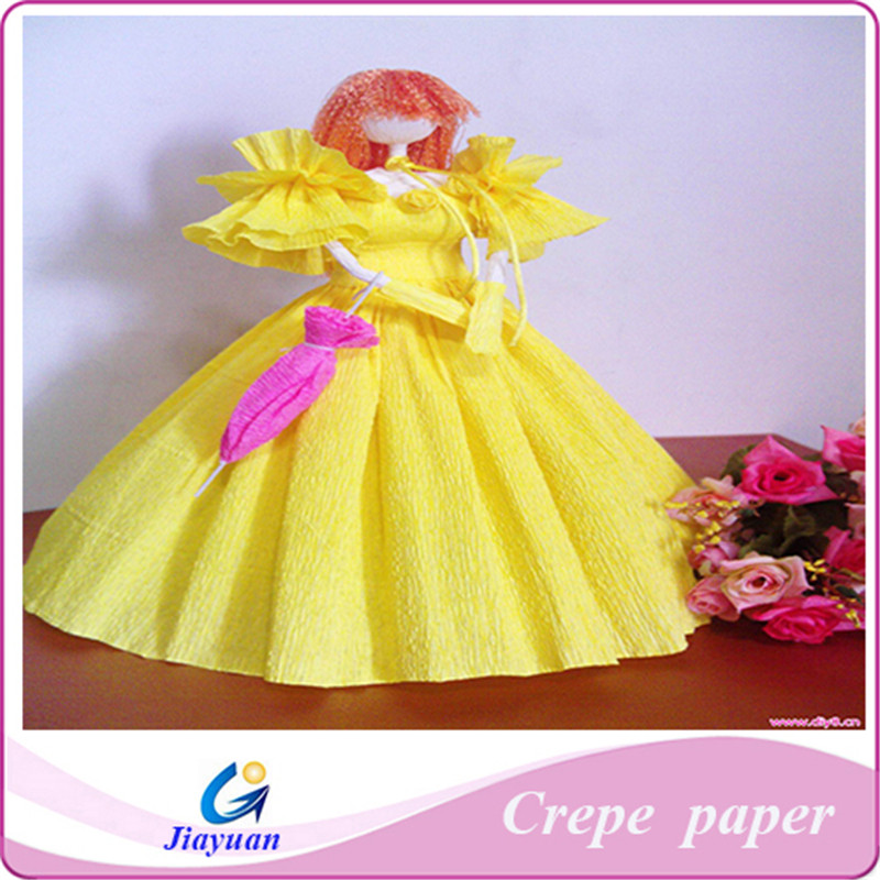 23gsm Handcraft Making Flowers/toys Crepe Paper With Cheap Price ...