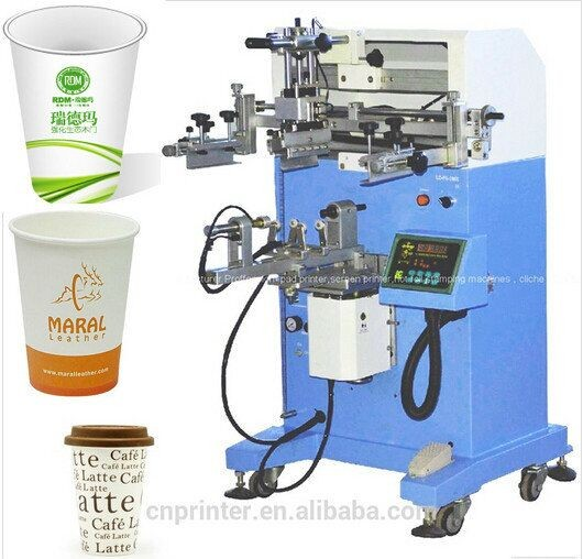 new product pneumatic cylinder paper cup screen <strong>printers</strong>
