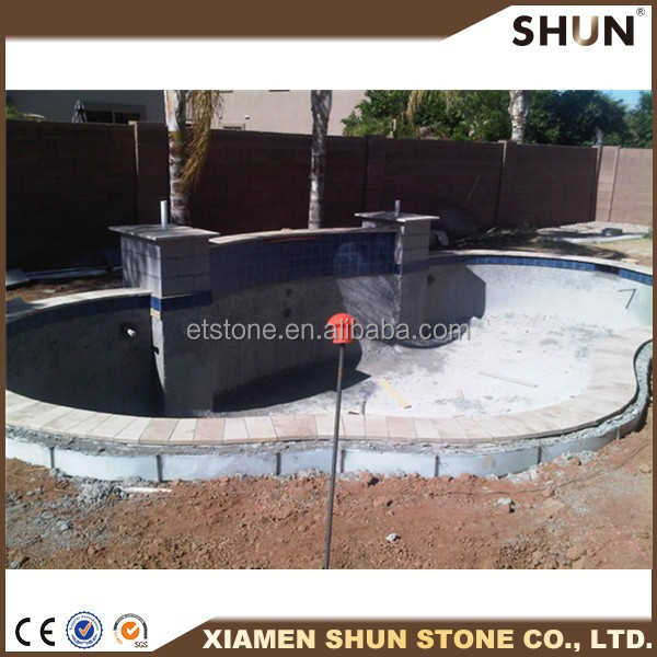natural Stone pool coping stone,swimming pool coping paver