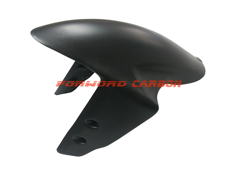 Quality carbon fiber motorcycle parts front fender mudguard for Ducati Panigale 1299
