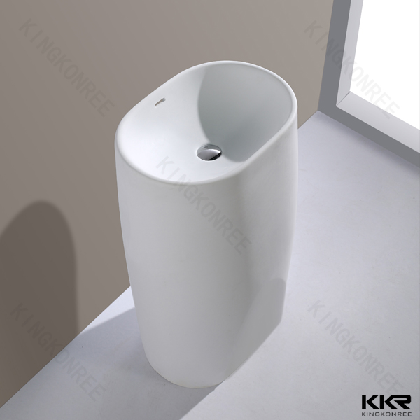 Kingkonree Rectangular Wash Basins Washbasins Bathroom
