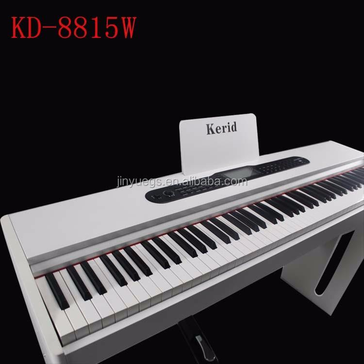 kd 8815w kerid standard keyboard best digital electric piano buy digital piano digital. Black Bedroom Furniture Sets. Home Design Ideas