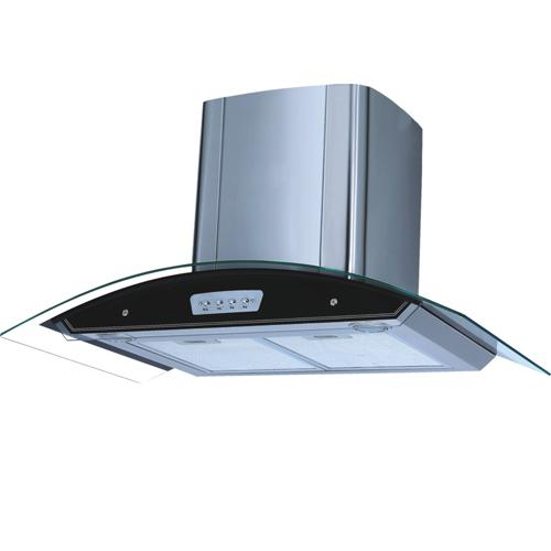 Chinese 600mm kitchen slide slim ultra-thin range hood