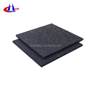 500x500mm size EPDM Gym flooring rubber