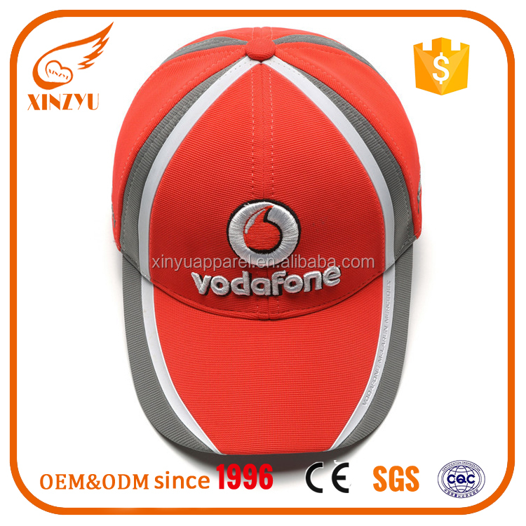 Customized Wholesale Moisture-Wicking Fabric Racing Hats Football Caps