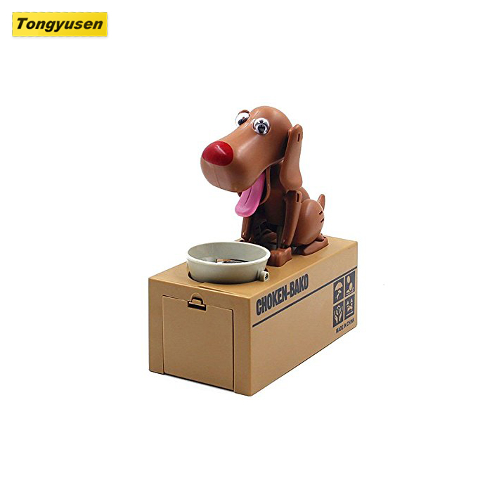 Hot Selling Toys Funny Dog Money Bank Electic Eating Coins Dogs Boxes Piggy Bank For Gift