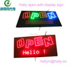 Hidly Brand new type open led sign with telephone number