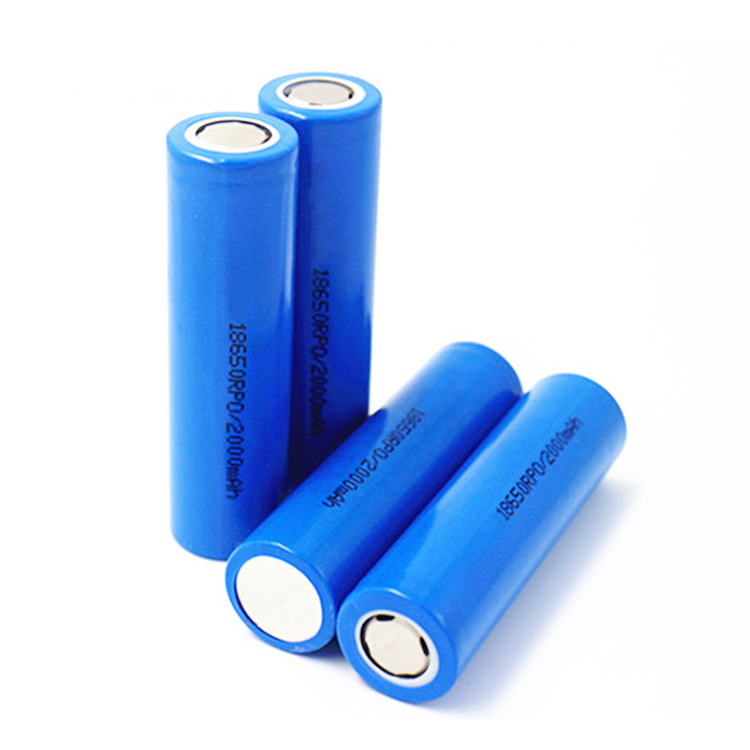li-ion battery 3.7v 2000mah icr18650 2000mah 3.7v rechargeable battery manufacturer