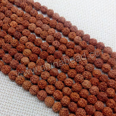 Wholesale rudraksha nepal mala bead natural round prayer beads