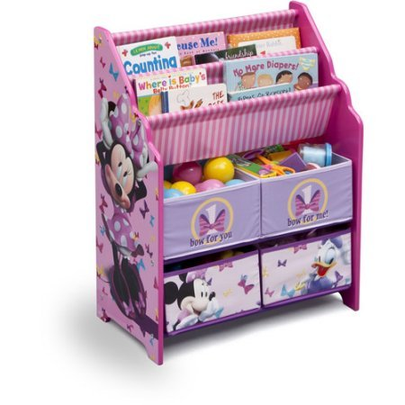 Get Quotations · Book And Toy Organizer, Disney Book And Toy Organizer,  Kids Book Organizer, Book