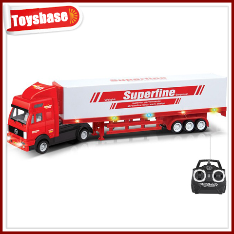 4ch remote control tow truck toy