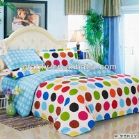 colorful ring quilt cotton bedspreads comforter bedding sets
