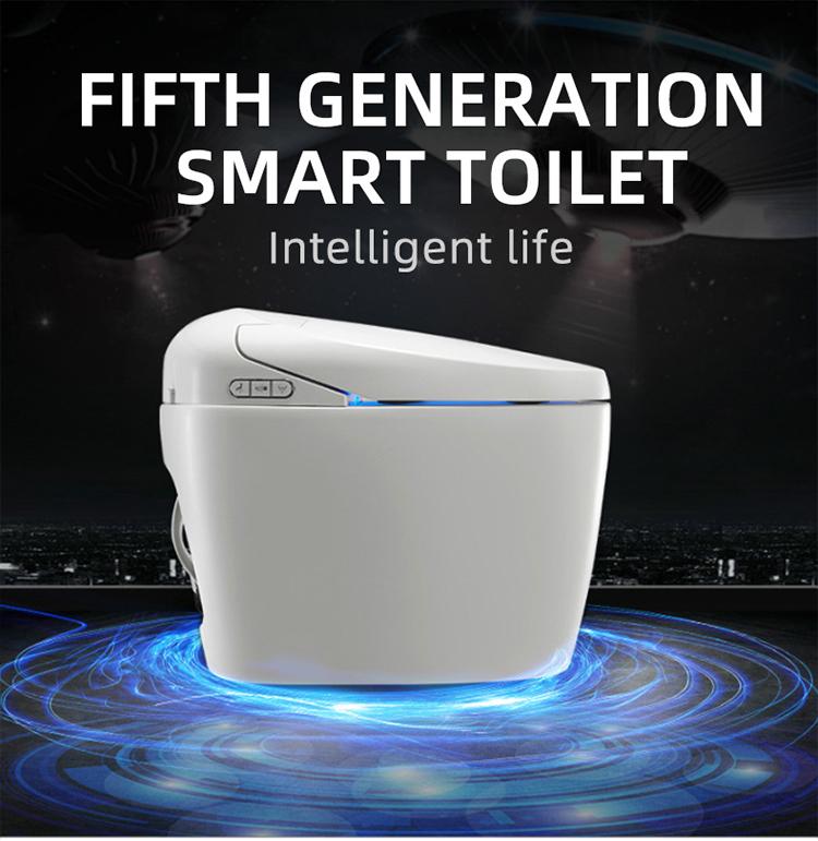 Japanese smart intelligent pregnant woman one piece toilet seat