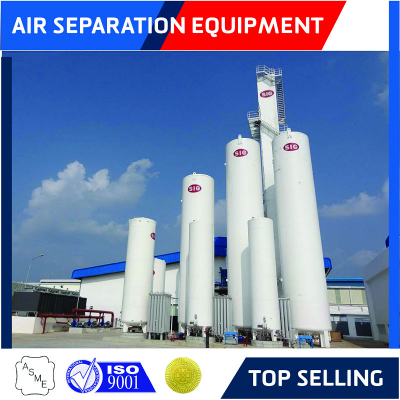 Liquid air separation plant with hydrogen-free argon