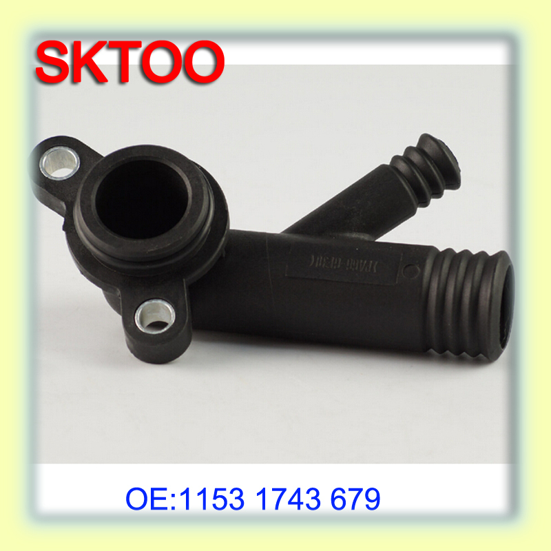 1153 1 743 679 11531743679 Coolant Water Hose Flange /thermostat ...