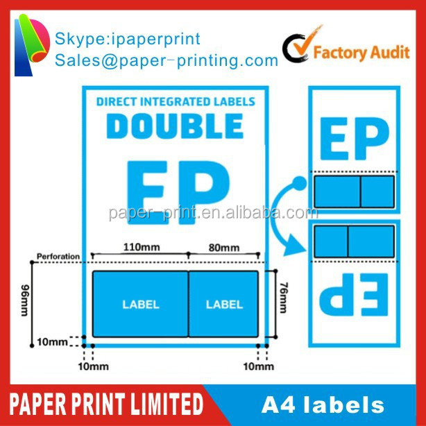 A Integrated Invoice Paper Peel Off Sticky Label Buy A Invoice - Integrated label invoice paper
