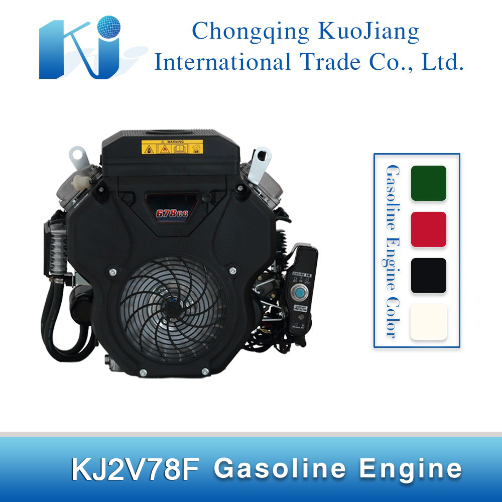v-type double cylinder gasoline engine at promotion