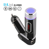 Professional Factory Wireless FM Transmitter Modulator Bluetooth Car charger Kit with USB/SD/Card Reader Slot and Remote Control