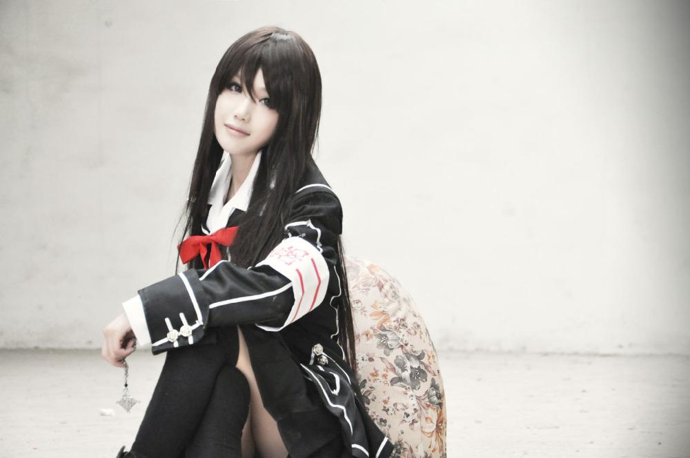 Anime Vampire Knight Kuran Yuki Cosplay Costume Black ...