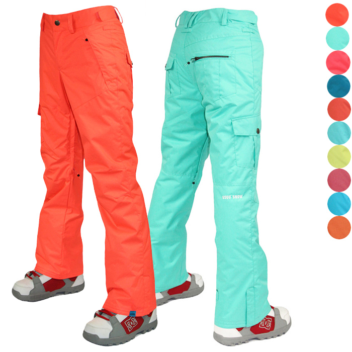 f643aa65e75 Get Quotations · Gsou snow ski pants women s snowboard pants waterproof  snow trousers womens breathable hiking pants softshell pants