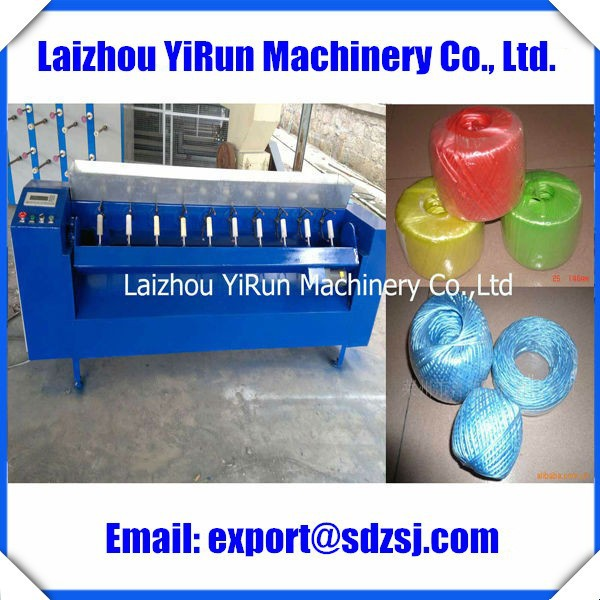 Chinese Professional Manufacturer of PP/PE Plastic Material Processed Wire/Yarn Ball Making Machine
