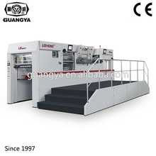 LK106MTF Auto Lead Edge Feeding Hot Foil Stamping Die Cutting Machine with Stripping