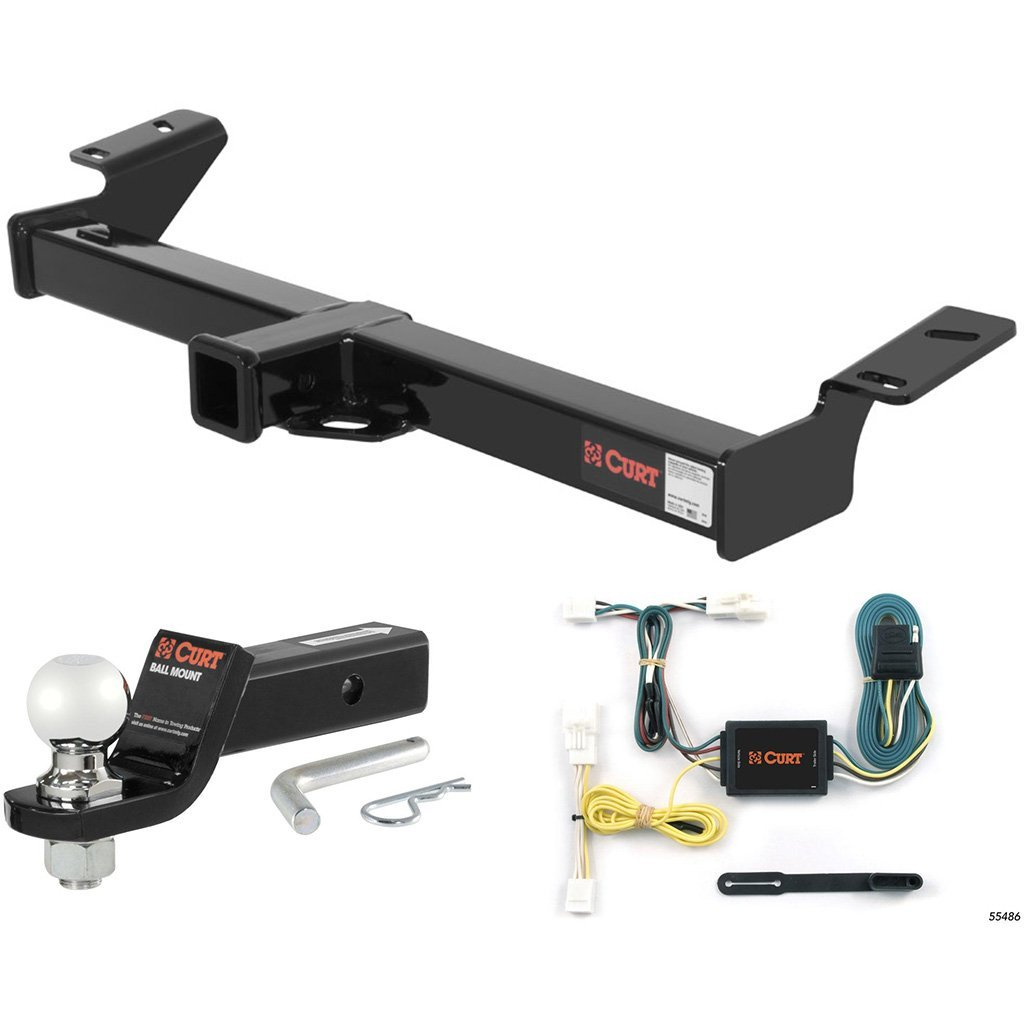 "CURT Class 3 Hitch Tow Package with 2-5/16"" Ball for 1996-2000 Toyota RAV4"