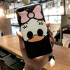 New Cartoon Duck Soft Silicone Case For Apple iphone 7 6 6s 6plus 7plus Silk Pattern Funny Phone Cases