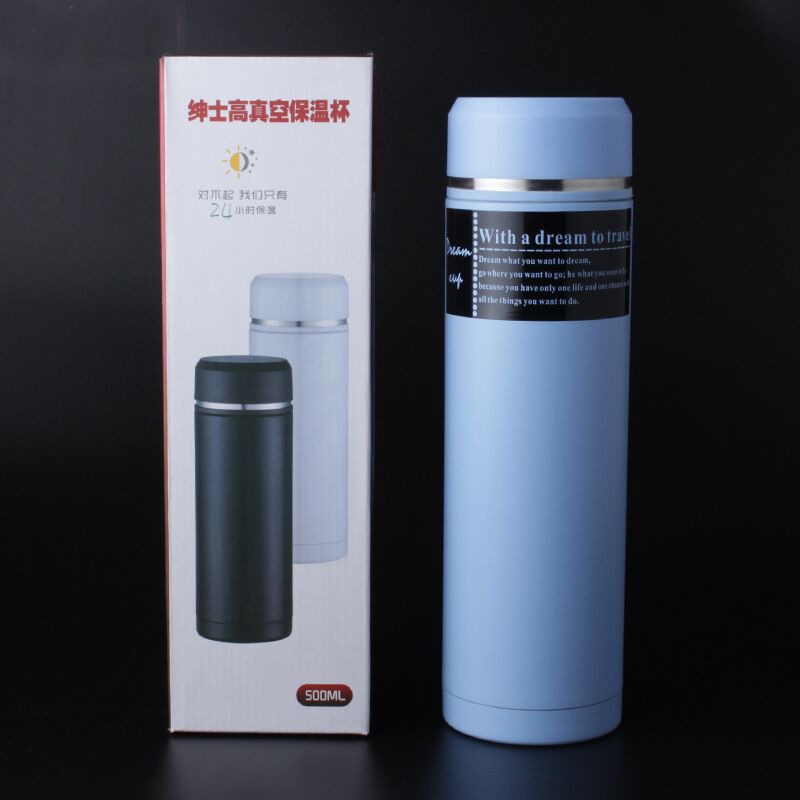 double wall Stainless Steel Insulated 350ml 500ml Life Vacuum Cup,high quality business Life Vacuum tumbler
