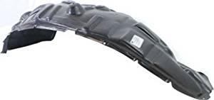 Front, Driver Side Plastic Splash Shield for Dodge Ram 1500, Ram 1500 CH1248152