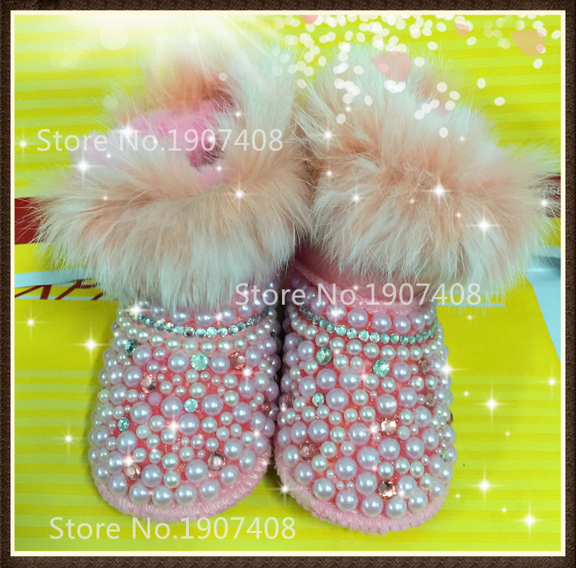 New Baby boots wool Brand fur Warm Winter baby Snow Boots/Toddler Shoes/ warm shoes for baby shoes first walker baby soft boots2