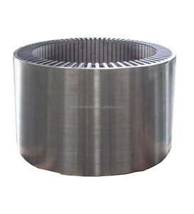 customized silicon steel stator and rotor laminated core for high and medium voltage wind generator