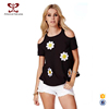 A Forever Fairness Black Off-Shoulder Women Off-shoulder Girl T-shirts