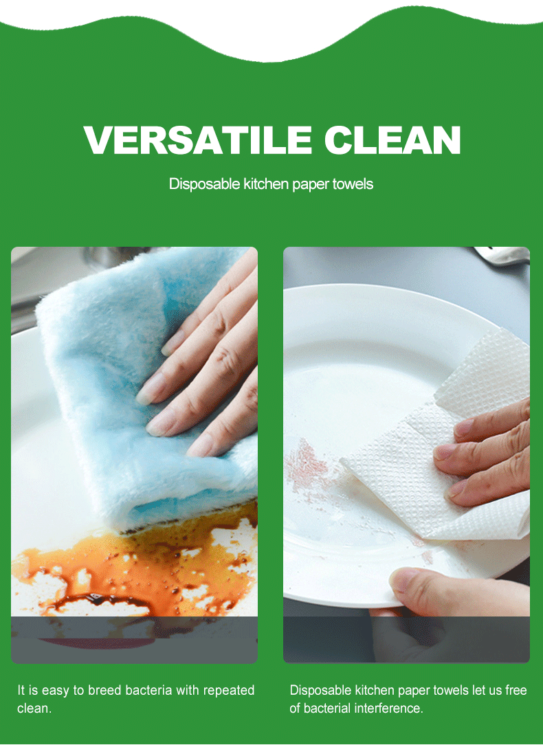 Disposable Cheap Embossed Virgin wood pulp Kitchen Paper Hand Towel