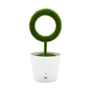 Ionkini JO-732 Ionic Desktop Green Plant Air Purifier