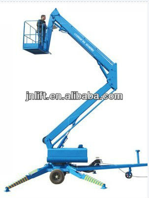 Towable genie boom lift/genie boom lift for sale