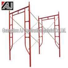 Famous Powder Coated H frame steel scaffolding