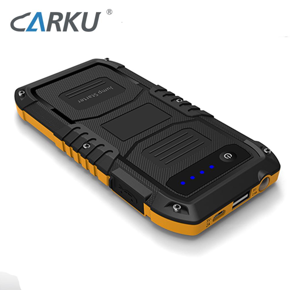 CARKU 12V mobile Portable emergency auto 400A Car Jumper 4000mAh for 2.5 liter Car