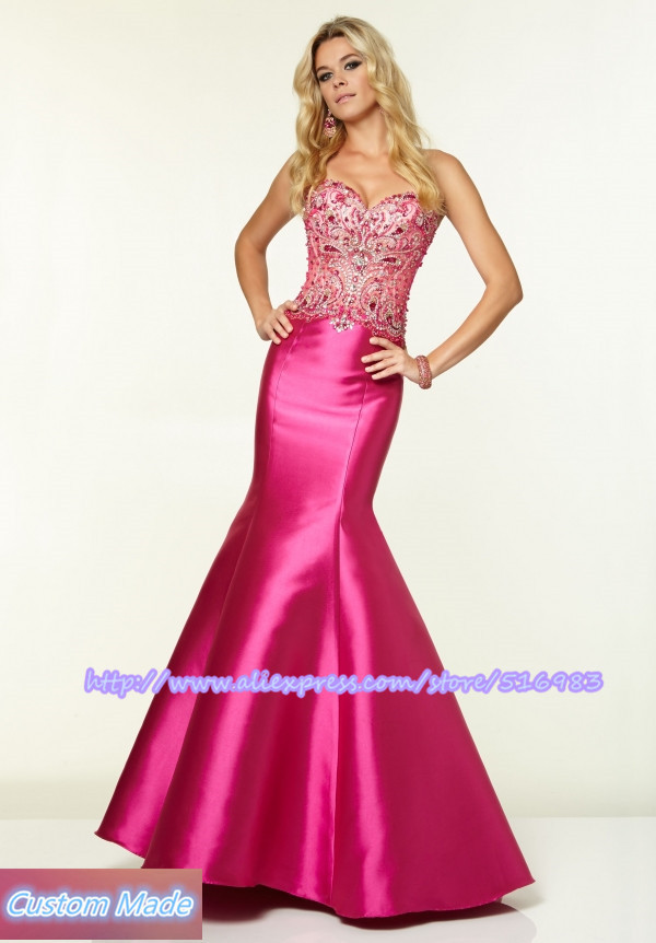 f0e66d5cb4ff5 Cheap Fuchsia Mermaid Dress, find Fuchsia Mermaid Dress deals on ...