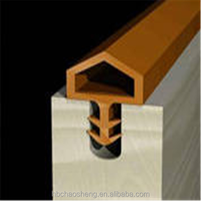 co-extrusion door frame rubber seal for wood door, View rubber ...