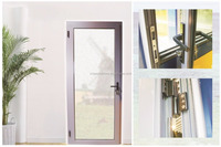 Open-out Aluminium Casement Door (KPM49)