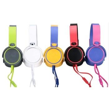 New Foldable School Kids Stereo Headphone Headset Buy Headphone