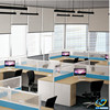 Wonderful soundproof office partition, modern 4 seater workstation divider