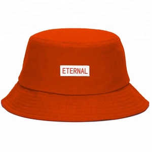 Orange Bucket Hat d407fbf529b2
